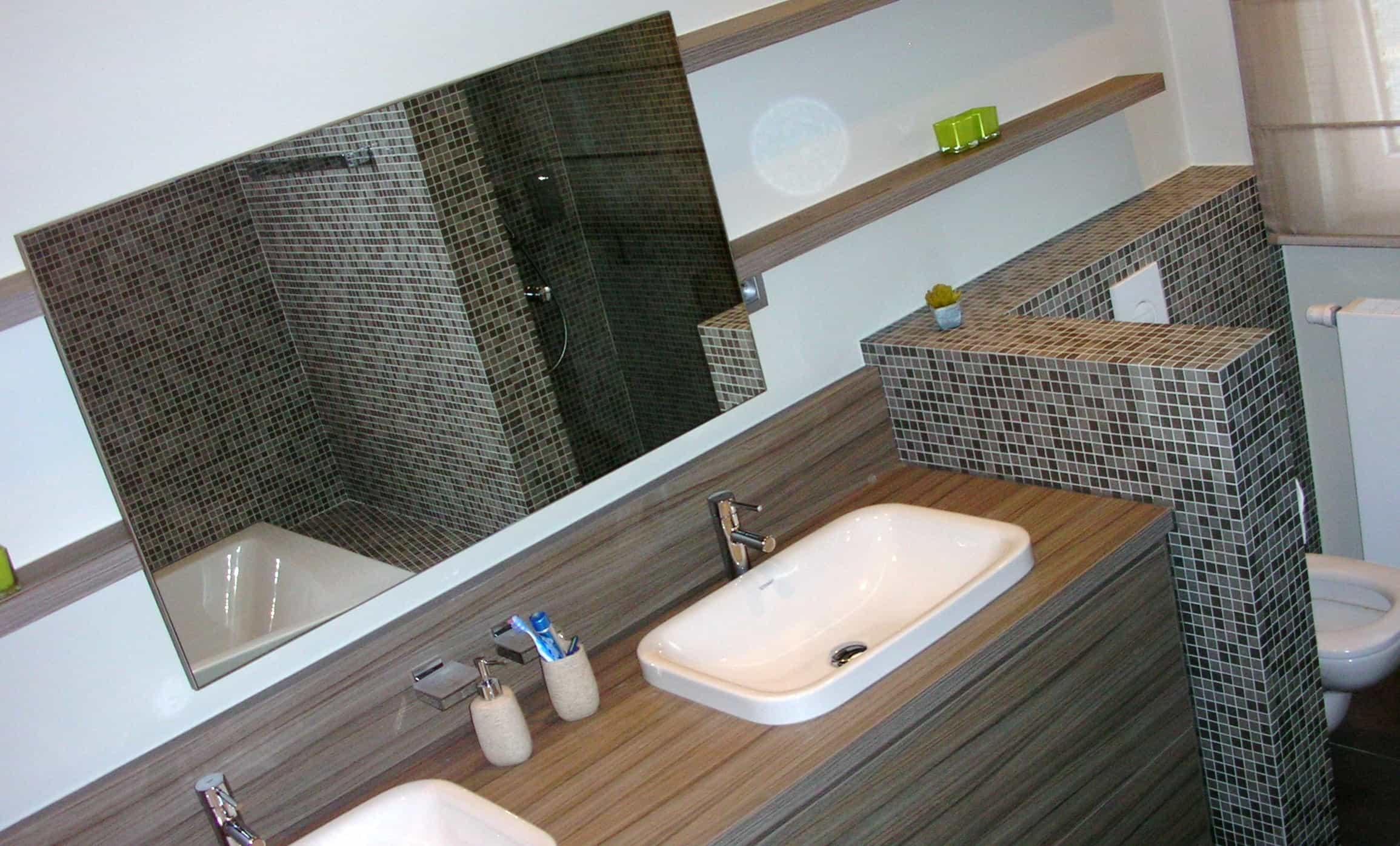 Badkamer renovatie genieten doe je in je eigen spa - Idee badkamer m ...