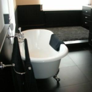 badkamer in landelijke stijl