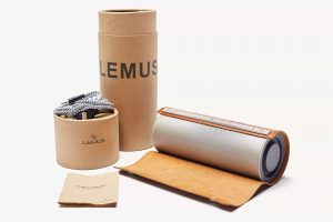 LEMUS vintage wireless 3D stereo Bluetooth speaker